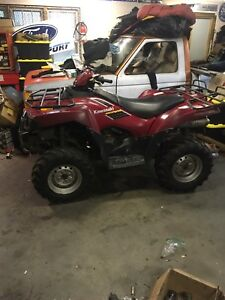 Parting out 2005 brute force 750