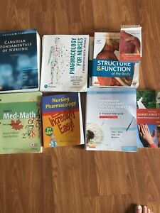 Practical Nursing Textbooks Year 1 & 2