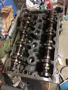 2007 Mini Cooper S cylinder head - bent valves