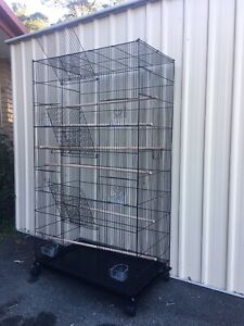Brand NEW triple height flight Cage, flatpkd, on wheels, eftpos Avail Meadowbrook Logan Area Preview