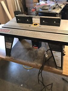 Ryobi Router with table