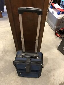 Carry-on size suitcase