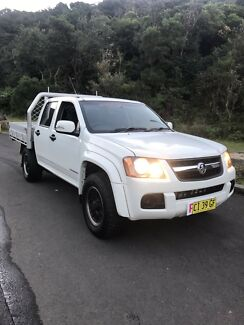 Dual cab Holden Colorado 2010 model