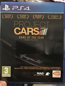 Project cars. In great shape for PS4