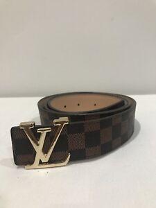 e964db21804 Louis Vuitton belt - brown