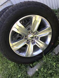 4 pneus d'été 20 Po
