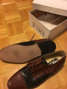 Brand new, never worn Varese men's dress shoes. MSRP $299.99