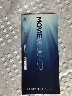Movie Voucher Adult Ticket