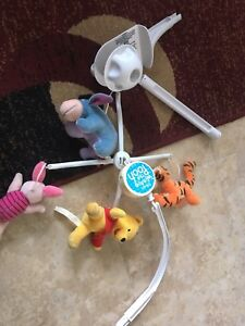 Winnie the Pooh wind up mobile for crib