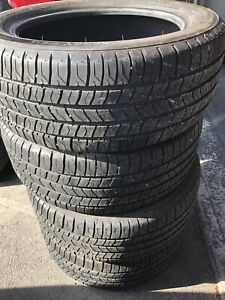 235/50/17 Michelin Energy summer tires 80% tread