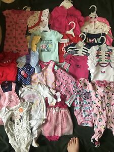BRAND NEW Baby girl lot 6-9 months