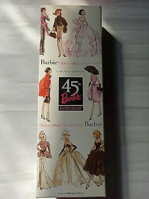 Barbie Fashion Model Collection, 45 th,2003, Silkstone, NRFB, Limited Edition.