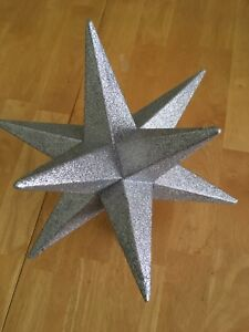 Large, 12 pointed, sparkly Star