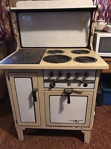 Antique General Electric Hotpoint Wood Burning/Electric Oven