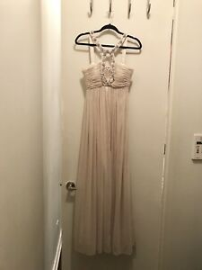 Jovani Dress / Gown (size 6, gold)