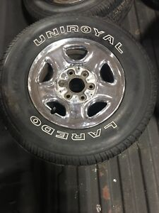Chevy 6 bolt rims and tires
