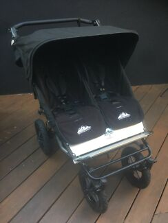 Mountain Buggy Urban (NZ made) Double Pram - Excellent Condition!!