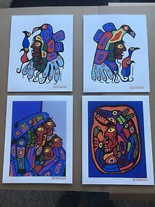 Norval Morrisseau serigraph/Screen Prints. #6 of 50 made.