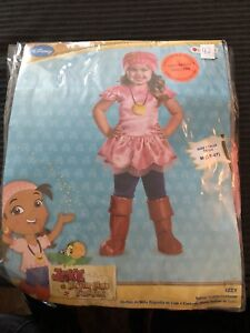 Costume d'halloween pirate fille 3-4 ans