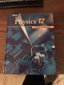 College preparation physics textbook