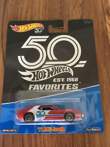 Hot Wheels 50th Anniversary Favourites