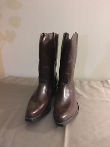 Boulet Leather Cowboy Boots - New
