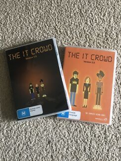 The IT crowd DVDs - season 1 and 2