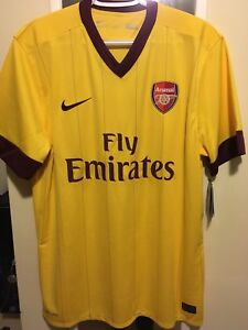 Authentic Nike Fly Emirates away jersey