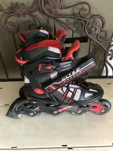 Ultra wheels Roller Blades Excellent Condition Size 7