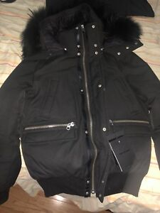 Mackage bomber jacket limited edition size 36 BRAND NEW