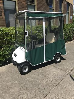 Golf cart, single seater