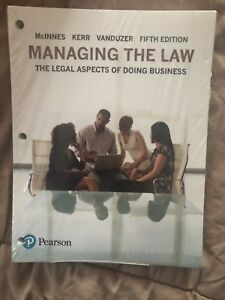 MANAGING THE LAW TEXT