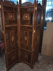 Hand Made Solid Wood  Room Divider / Partition