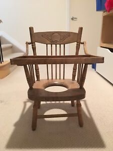 Old School Potty Chair