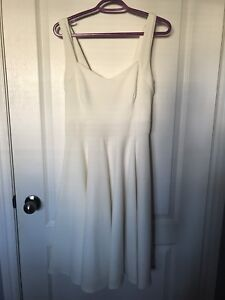 Ivory Sweetheart Fit & Flare Dress