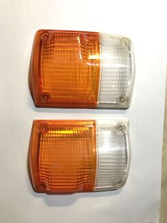 Landcruiser 60 series front indicator lenses, used excellent condition Berkeley Wollongong Area Preview