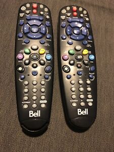 Two Bell Satellite TV Remotes - Perfect Condition