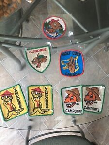 Cubs and Scouts Patches