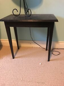 Small painted side table