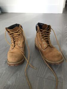 TIMBERLANDS SIZE 8M