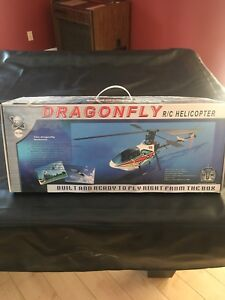 Dragonfly Electric RC Helicopter