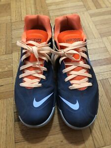 Nike hyperfuse navy basketball shoes size 12