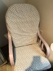 Rustic refurbished nursing chair