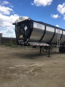 2015 Trout River 45' tri axle live bottom trailer