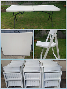 Tables and chairs hire Cranbourne Casey Area Preview