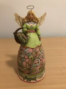 Jim Shore Birthday Month Angel Figurine - August -
