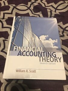 Financial Accounting Theory (7th edition) William R.scott