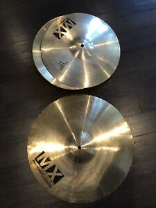 Cymbales CB hi hâte 14 ´´ et ride 20 ´´