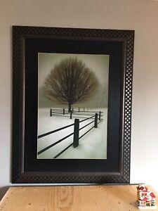 Framed Print of Painting