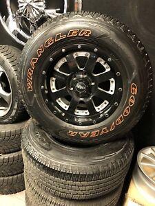 Mags et pneus Ford F150 265/70R17